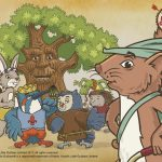 Robin Hood's Little Outlaws group illustration