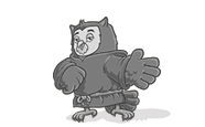 Tuck the owl