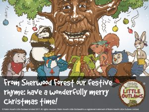 Merry Christmas 2017 from Robin Hood's Little Outlaws!