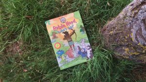 Robin Hood's Little Outlaws' first picture book, 'Robin Hood, who's he?'