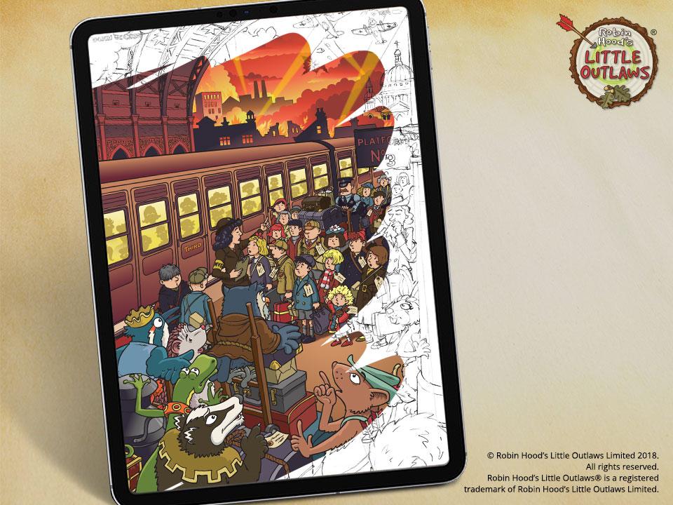 Book 2 'Evacuees' cover reveal
