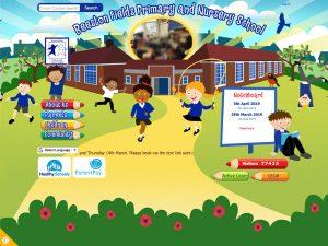 Beeston Fields Primary School website hompage